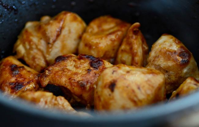 Kallrökt marinerad kycklinglårfilé