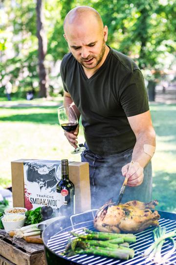 Grillning med grillflis